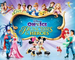 Win 4 tickets to Disney on Ice -- Princesses and Heroes