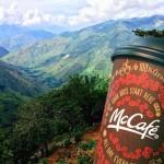 Free coffee at McDonalds
