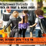 Free Halloween portraits of kids at Promenade on Providence event