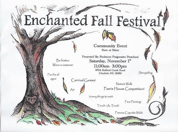 enchanted fall festival