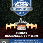 ACC Fan Central party at EpiCentre