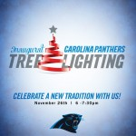 Carolina Panthers Tree-Lighting Celebration