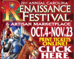 Another chance: Win tickets to Renaissance Festival