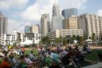 Tuesdays and Fridays: lunchtime music at Romare Bearden Park